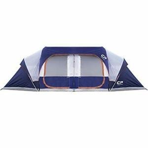CAMPROS Tent-12-Person-Camping-Tents Waterproof Windproof Family Tent with To...