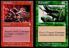 MTG Magic - (U) Invasion - Assault / Battery - SP
