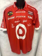 NASCAR Target Pit Crew Shirt CHIP GANASSI Racing JUAN PABLO MONTOYA Mint Size XL