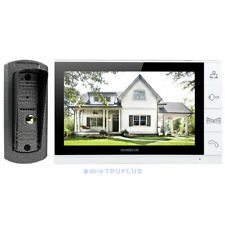 HOMSECUR Video Intercom with 9'' Ultra-big LCD Screen & HD Camera Angle Mounted
