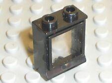Fenetre noire LEGO TRAIN vintage black window 3081cc01 / Set 7727 7750 7730