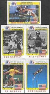 Bruce Jenner #50 1984 Topps Olympians