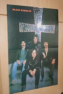 BLACK SABBATH band large size A3 original magazine glossy ART poster