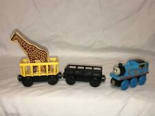 Circus Train Lot With Giraffe Cargo Car Thomas The Train Wood Wooden