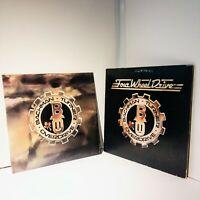 BTO Bachman Turner Overdrive Four Wheel Drive + Head On LP Vinyl Mercury Records