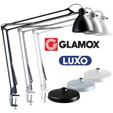 Luxo L-1 Leuchte Tischfuß Tischklemme WAHL Schwarz Weiß Grau | Schreibtischlampe
