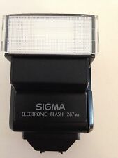 SIGMA 287MA ELECTRONIC FLASH + CASE