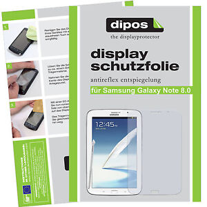 2x Screen Protector for Samsung Galaxy Note 8.0 N5110 protection anti glare