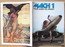 MACH 1 - FORZE AEREE NEL MONDO - N.121/1, 1981 - AFGHANISTAN - AUSTRALIA*_OTTIMA
