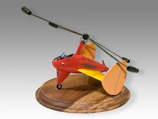 Castle of Cagliostro Autogyro Lupin III Anime Solid Kiln Dry Mahogany Wood Model