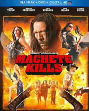 Machete Kills    (Blu-ray + DVD)   No Digital     LIKE NEW