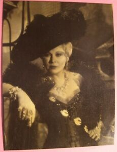 Vintage Original Mae West Eugene Robert Richee Museum of Modern Art Photograph