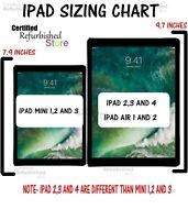 Apple iPad Air,mini,2,3,4 64GB 32GB 16GB Wi-Fi+4G Cellular (1-Year Warranty)