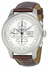 Tissot Le Locle Leather Automatic Chronograph Mens Watch T41131731