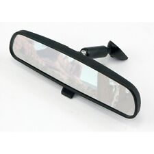 Omix-Ada 12020.03 Rear View Mirror in Black Fits 72-02 Jeep Wrangler LJ/ TJ