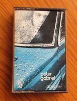 PETER GABRIEL ORIGINAL 1977 UK MUSIC CASSETTE CHARISMA RED PAPER LABELS