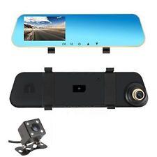 Lente Dual Cámara en Tablero, coche Dashboard cámara retrovisor delantero y trasero, 1080P