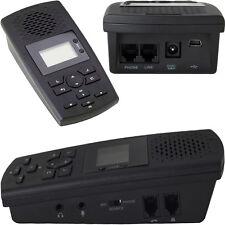 SR100 AUTOMATICO TELEFONO REGISTRATORE VOCALE PER DIRECT FISSI CON 8GB MEMORIA
