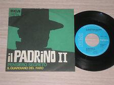"""IL GUARDIANO DEL FARO - IL PADRINO II / PENSIERO SEGRETO - 45 GIRI 7"""" ITALY"""
