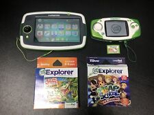 Leap Frog Lot Of Two Gaming Systems And 3 Games Leapster GS And LeapPad Platinum