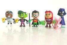 Teen Titans Go! Mini Figures 6 Pack Exclusive Set Mattel Rare