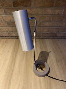 Vintage Habitat 'Tangola' Table Desk Lamp Modernist Rare Cast Iron Base Chrome