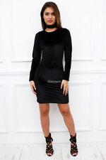 Vestiti da donna nero velluto