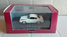 "DIE CAST "" FIAT 750 ABARTH COUPE' - 1956 WHITE "" STARLINE SCALA 1/43"