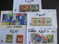 Germany DDR wee hoard collection of better sets singles