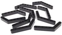 LEGO Technik - 10 x Liftarm 1x9 gebogen ( 6 auf 4 ) schwarz /  6629 NEUWARE