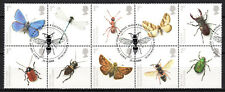 Great Britain - 2008 Insects / Butterflies - Mi. 2631-40 VFU