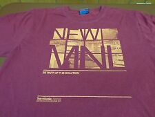 LIMITED EDITION 2011 TEAM MANILA LIFESTYLE Be Part of Solution  T SHIRT 2XL N8