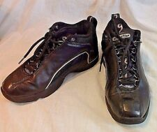 Reebok Blacktop spin DMX basketball shoes black silver w/ box men's size 7.5 EUC