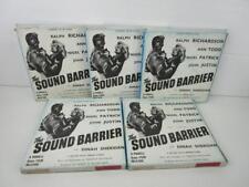 Vintage Super 8 mm Film - The Sound Barrier - 5 Reels B&W Sound -Dinah Sheridan