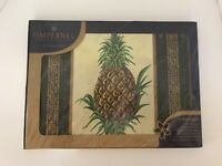 Set of 4 Pimpernel Golden Pineapple Collection Placemats
