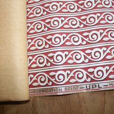 Vintage Belgium Printed Wallpaper Border, Shelf border