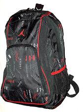 NEW Nike Air Jordan Jumpman Flight Laptop Bottle Pocket School Backpack Bag NWT