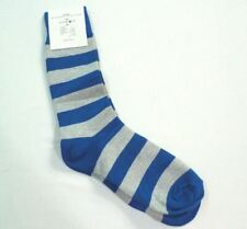 Paul Evan's Women's Striped Socks Blue & Gray 8-12 NWT DC2