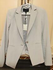 BCBG Maxaria blazer Jacket Pearl Grey Small size