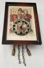 Hummel Clock Ars Sacra 9636 Miniature Collectible Vintage missing key Germany