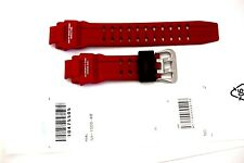 CASIO WATCH BAND:  10475505  Red Resin Band GA1000