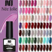 NEE JOLIE 8ml UV Gel Nail Polish Glitter Soak off UV Nail Art Gel Varnish DIY