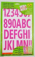 Hy-Ko 174 Neon Numbers Letters & Symbols 2 inch A5-6