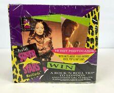 Vintage 1991 ProSet SUPER STARS Musicards Box Torn wrap