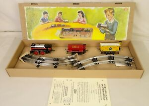 PAYA #893 BEAUTIFUL REPRODUCTION OF THE ORIGINAL STEAM TRAIN SET FROM 1928-MIB!