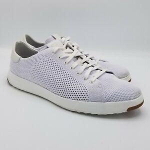 Cole Haan Mens GrandPro Stitchlite Tennis Sneaker 8.5 White
