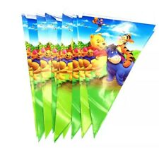 WINNIE THE POOH DECORATIVE BUNTING/ FLAGS/ BANNER/ BIRTHDAY PARTY 2.5M