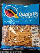 Qualatex Gold Metallic  260Q Entertainer Balloon 100 ct.