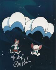 ROB PAULSEN signed (PINKY AND THE BRAIN) TV SHOW 8x10 photo W/COA