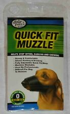 Four Paws Quick Fit Cloth Dog Muzzle size 0 Teacup/toy breeds Yorkies Poodle
